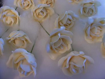 sugarpaste wired rose